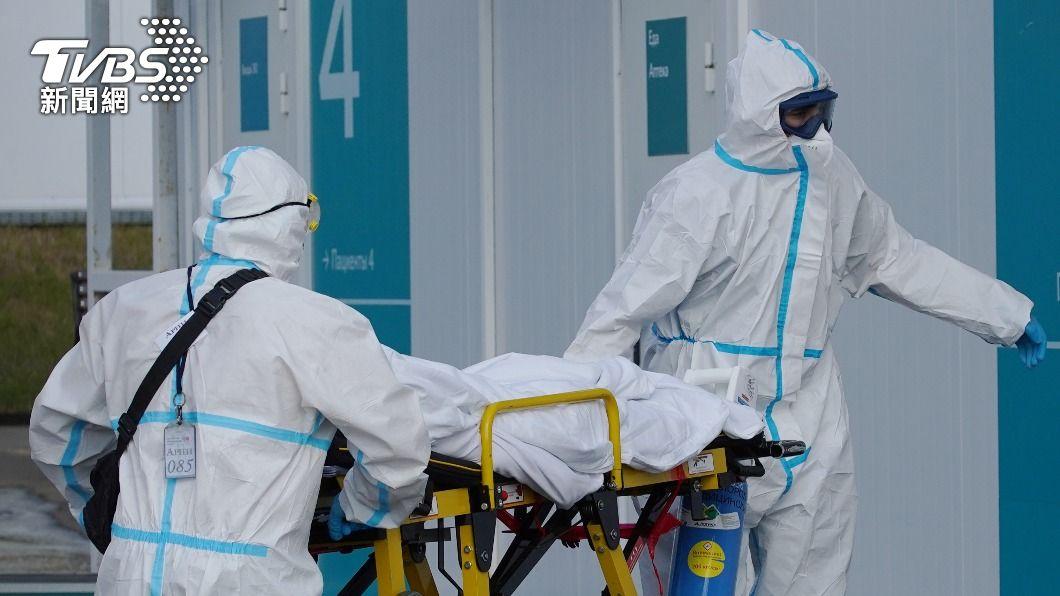 俄羅斯染疫病末人數不斷創新高。(圖/達志影像路透社) 俄羅斯染疫死亡數創新高 政府拒封城:這沒得商量