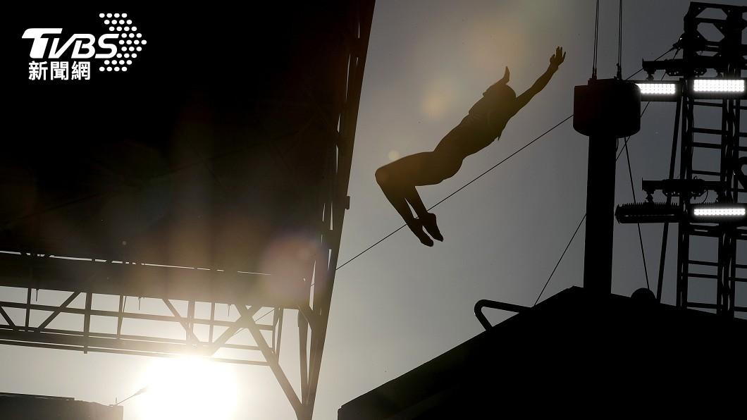 圖/達志影像美聯社 起跳、騰空、轉體、入水 兩秒完成!奧運跳水精彩可期