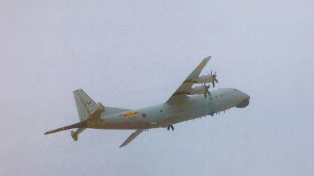 共軍一架運8反潛機侵擾台灣西南防空識別區。(圖/國防部提供) 共軍又來!運8侵擾台灣西南ADIZ 空軍兵力應對