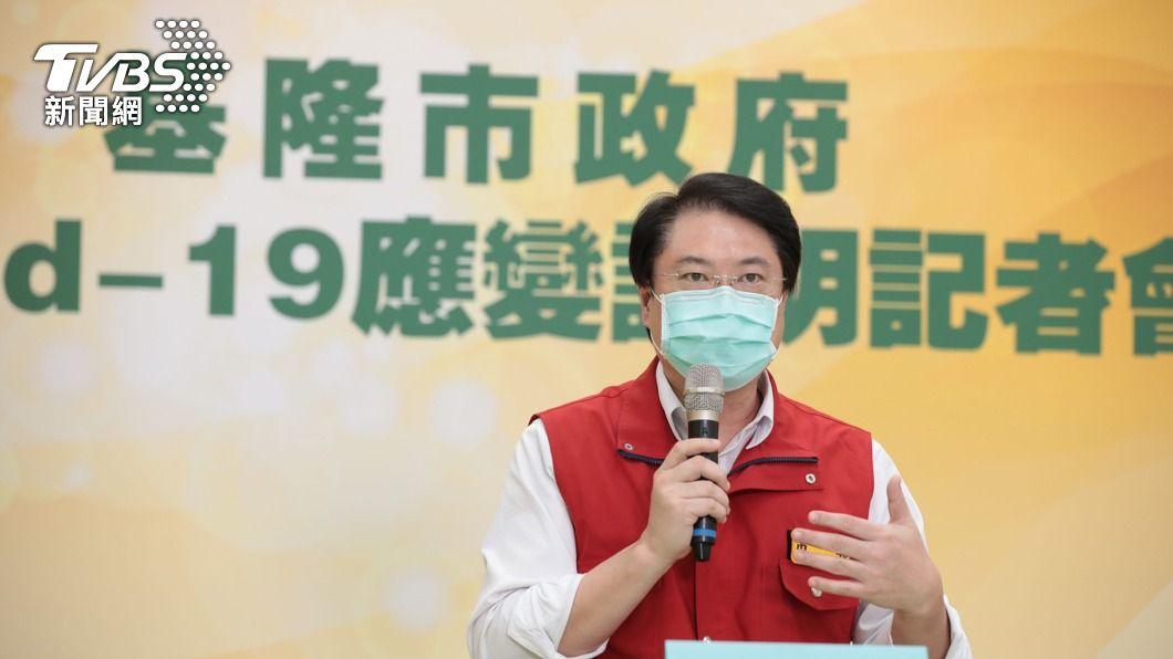 基隆市長林右昌。(圖/中央社) 柯文哲特權疫苗說 林右昌:大家想到應是好心肝