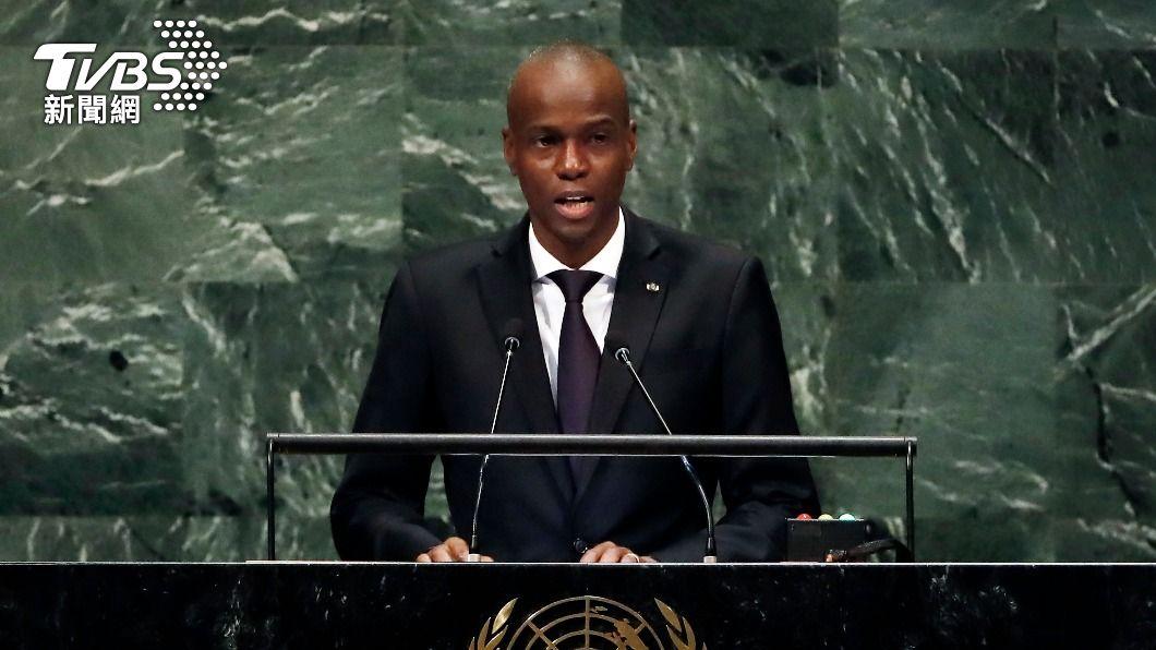 海地總統摩伊士遇刺身亡。(圖/達志影像美聯社) 傭兵扮美幹員行凶 海地總統遭刺殺、第一夫人送佛州搶救