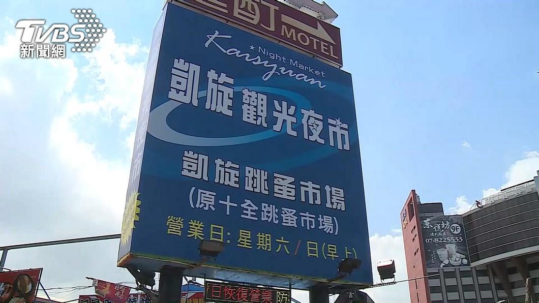 圖/TVBS 微解封!防疫「三套一罩」措施 台南大東夜市7/12復業