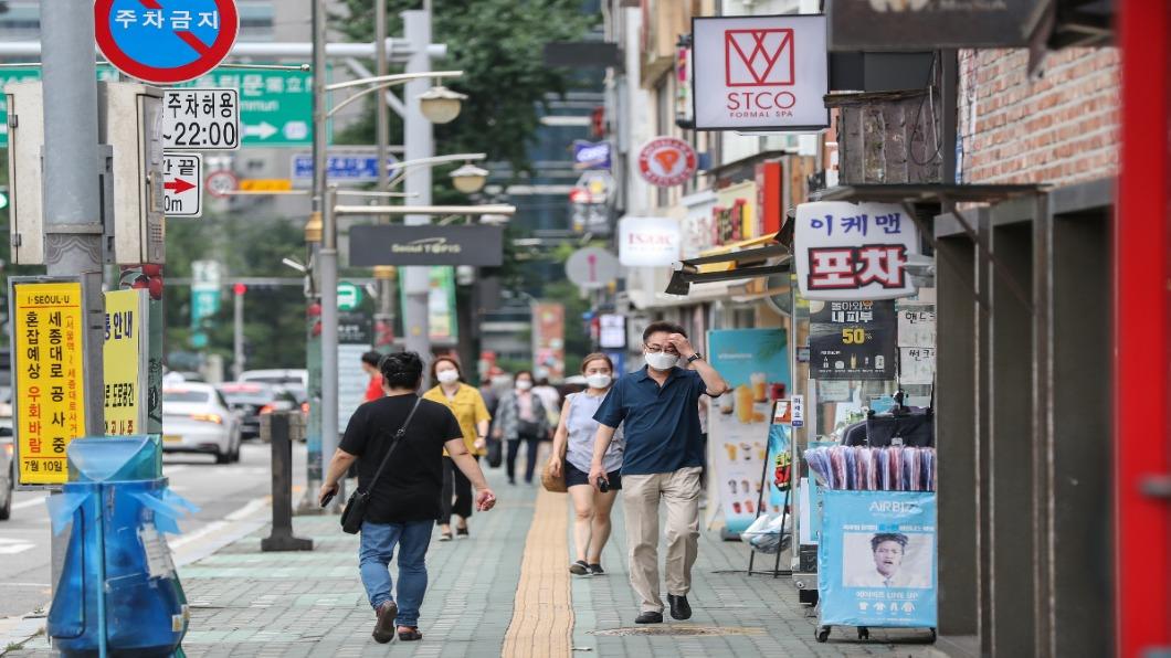 圖/shutterstock 達志影像 連兩天破1200例!南韓確診創歷史新高.恐升「四級」