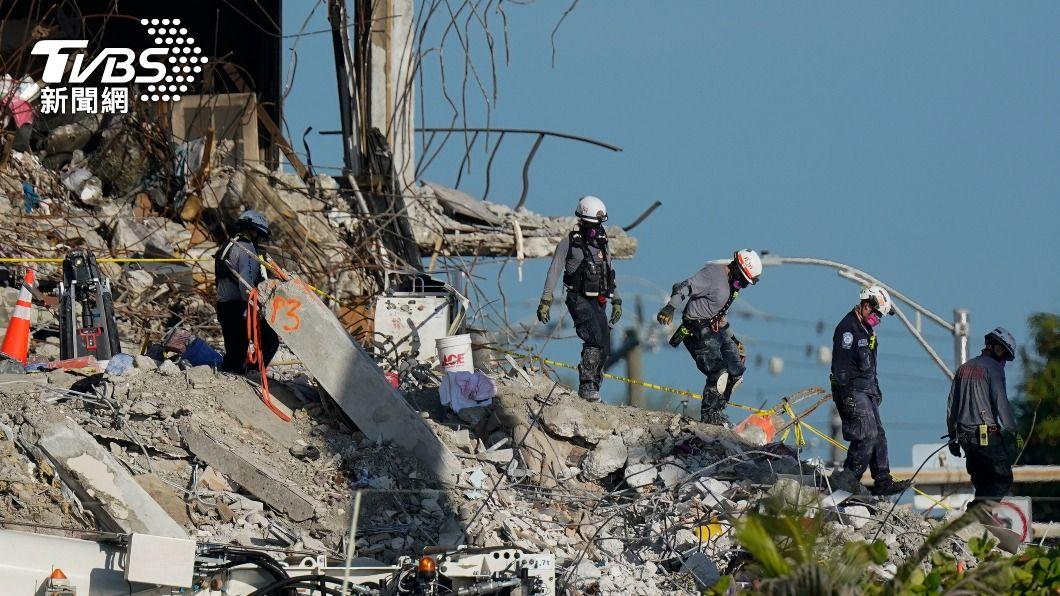(圖/達志影像美聯社) 佛州公寓大樓倒塌 巴拉圭第一夫人姊妹的遺體尋獲