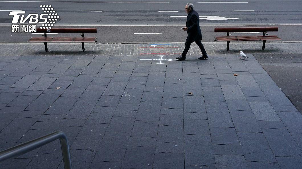 雪梨地區已進入封城第3週。(圖/達志影像路透社) 澳洲官員憂社區隱形傳染鏈 恐延長封城
