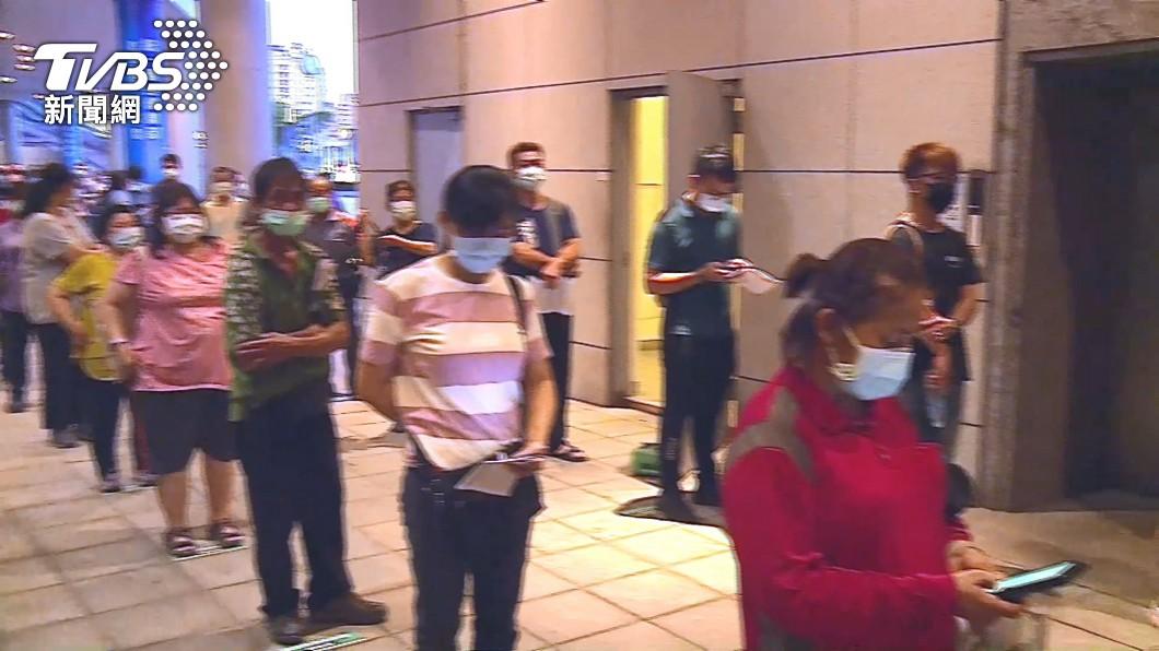 圖/TVBS(非當事畫面) 疫苗之亂頻傳!柯文哲:台北通連結唐鳳系統盼能簡化流程