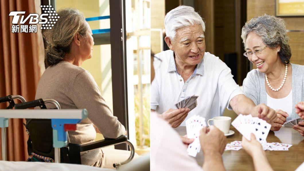 居家防疫期間可與長者多互動,增加活動量。(示意圖/shutterstock達志影像) 失智據點關閉活動量下降 「防疫在家妙招」延緩病友失能