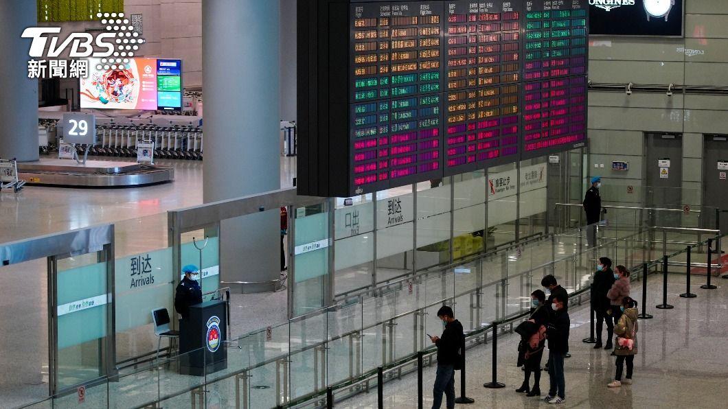 (圖/達志影像路透社) 上海新增6例境外移入確診 其中2人來自台灣
