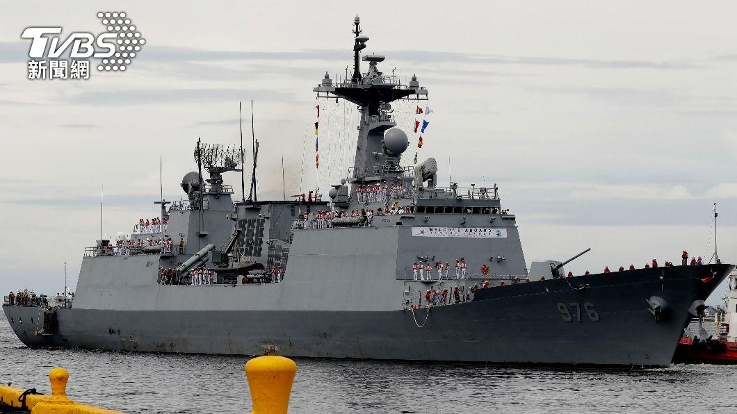 「文武大王號」目前於非洲海域執行任務。(示意圖/達志影像美聯社) 南韓驅逐艦3天暴增68確診 仍有200多人待公布