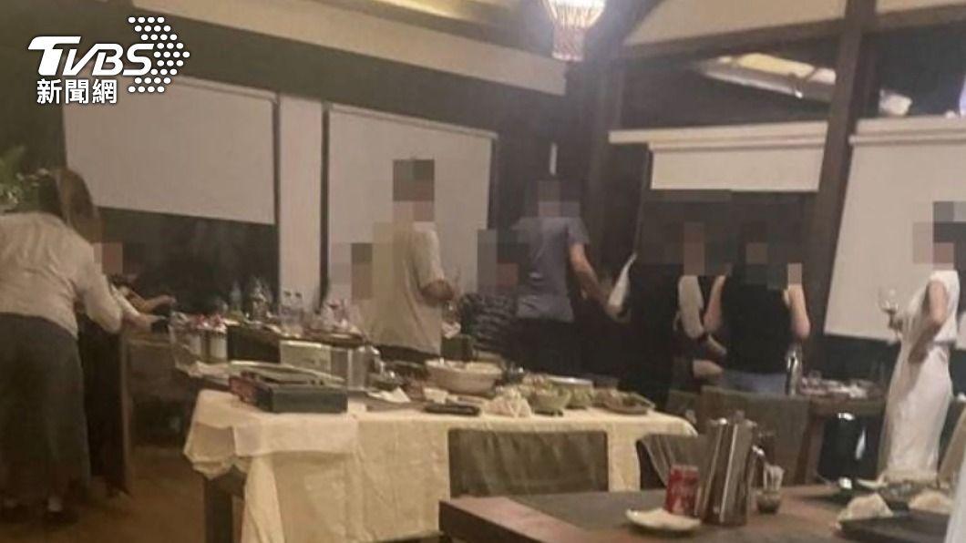(圖/中央社) 牡丹灣Villa群聚 交旅處舉發15人移送衛生局