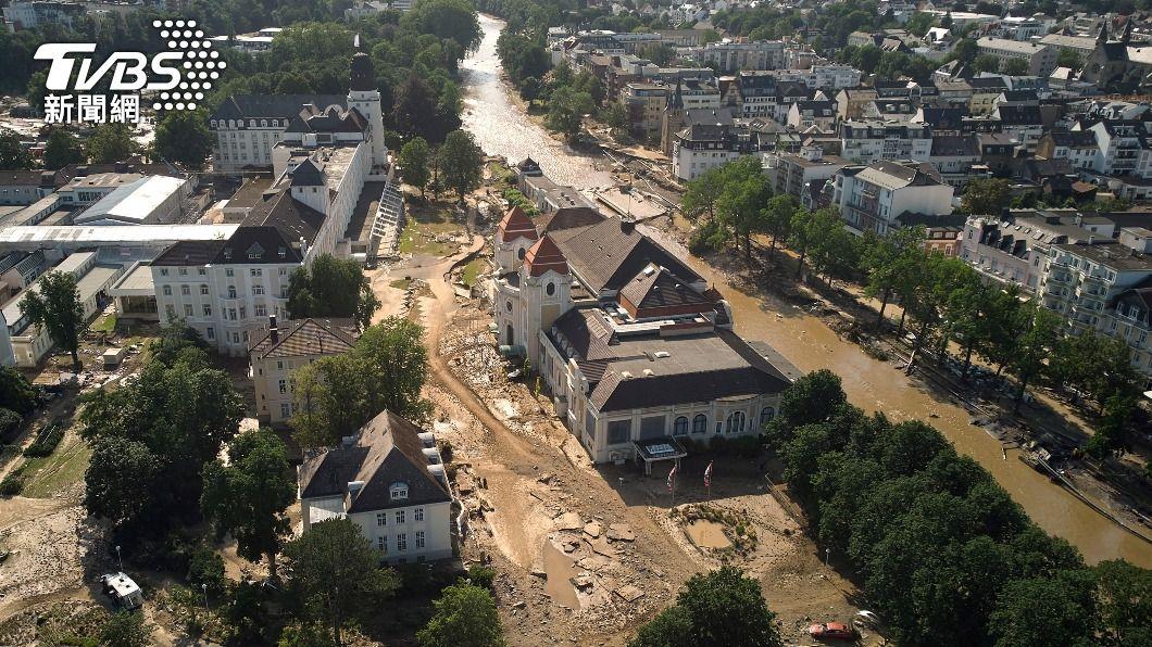(圖/達志影像美聯社) 德國致命洪患奪150多條人命 學者批警報系統失靈