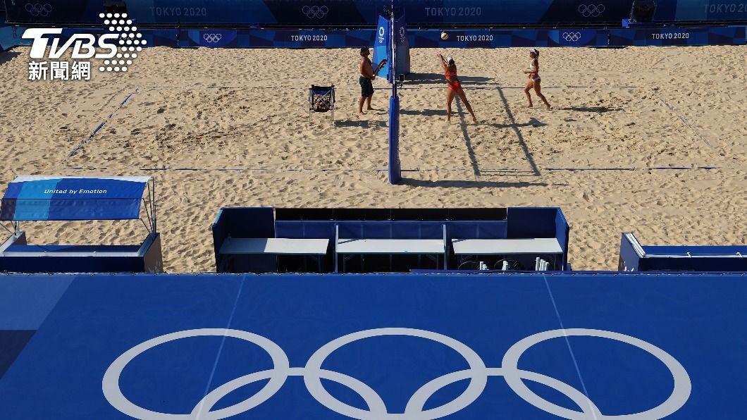 (圖/達志影像路透社) 捷克奧運代表團通報疫情 沙灘排球選手無症狀確診