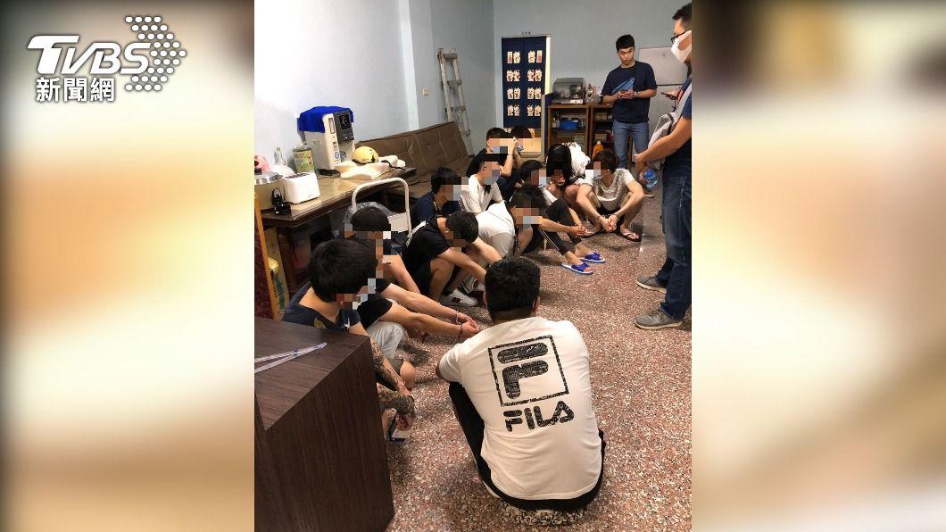 (圖/中央社) 美華裔工程師視訊報案 北市警破跨國詐騙逮20嫌