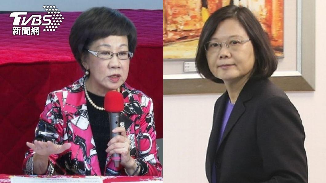 呂秀蓮要綠營公職人員打高端疫苗效忠蔡英文。(圖/TVBS資料畫面) 她要綠公職「打高端效忠總統」 民進黨:這是科學問題