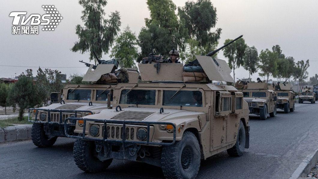 阿富汗政府軍駐守阿富汗第二大城坎達哈。(圖/達志影像路透社) 塔利班已控制半數阿富汗地區 美軍參謀長:輸贏言之過早