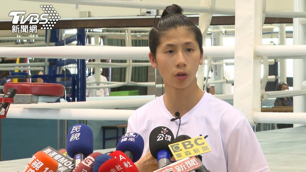 (圖/TVBS資料畫面) 奪牌熱門人選落敗!林郁婷女子拳擊止步16強