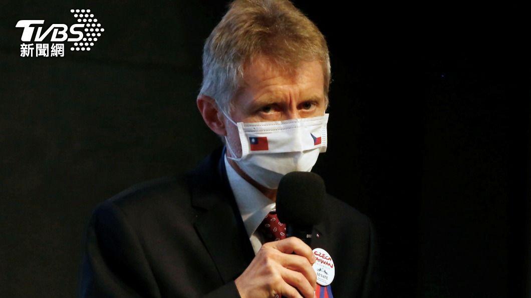 捷克參議院議長韋德齊(Miloš Vystrčil)日前透露捷克政府考慮捐贈我國疫苗。(圖/達志影像路透社) 捷克政府宣布 將贈3萬劑疫苗給台灣