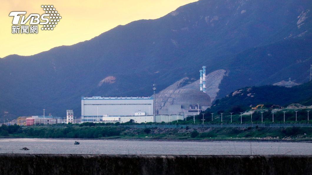 台山核電廠。(圖/達志影像美聯社) 廣東台山核電廠事故 法電力集團:應關閉反應爐