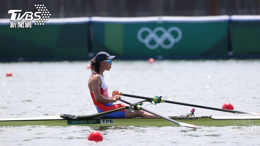 圖/李天助攝 東京奧運首位出賽台灣選手! 划船「黃義婷」分組第4