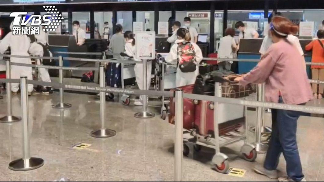 今日有新增境外移入個案。(示意圖/TVBS) 今+1例境外移入 本國籍20多歲男性自西班牙入境