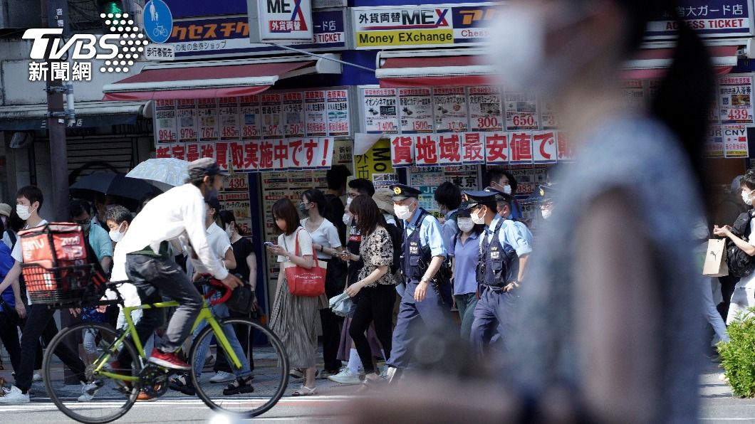 (圖/達志影像美聯社) 東京奧運晚間開幕 東京連4天新增逾千例確診