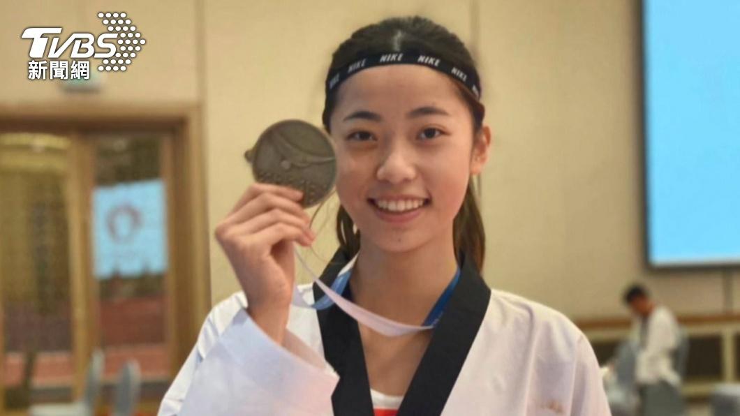圖/TVBS 19歲羅嘉翎出身跆拳道世家!東奧首戰對決南韓李雅凜