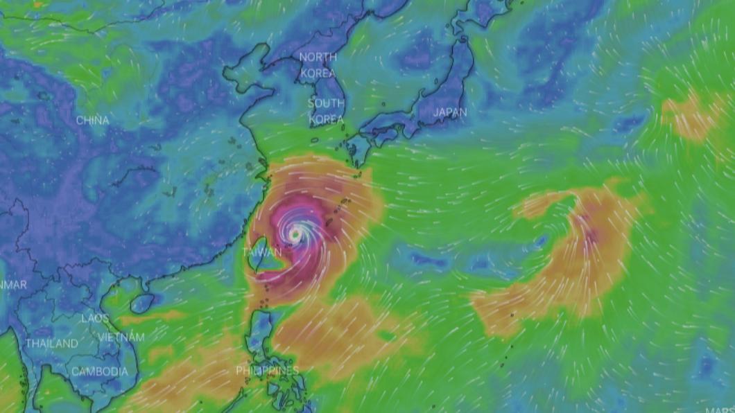 颱風「尼伯特」生成。(圖/翻攝自天氣與氣候監測網) 東奧才開幕!第8號颱風「尼伯特」生成 恐直撲東京