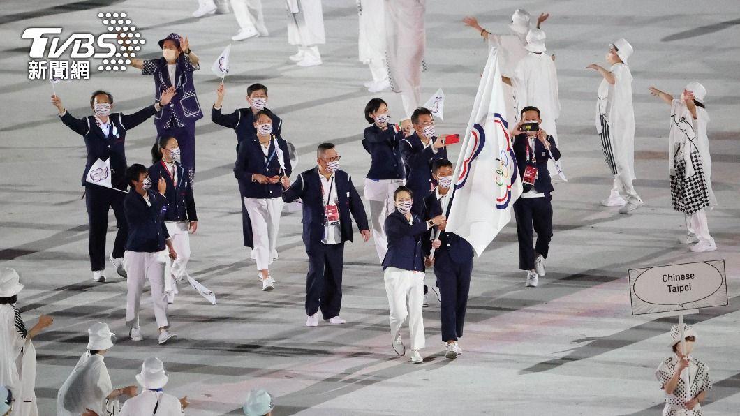 東京奧運中華隊進場。(圖/李天助攝) 想避中華隊進場卻卡掉大陸隊 騰訊挨轟急解釋