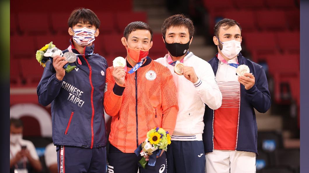 柔道楊勇緯金牌戰奪銀。(圖/體育署提供) 中華隊3選手創佳績 國光獎金累積發出1150萬