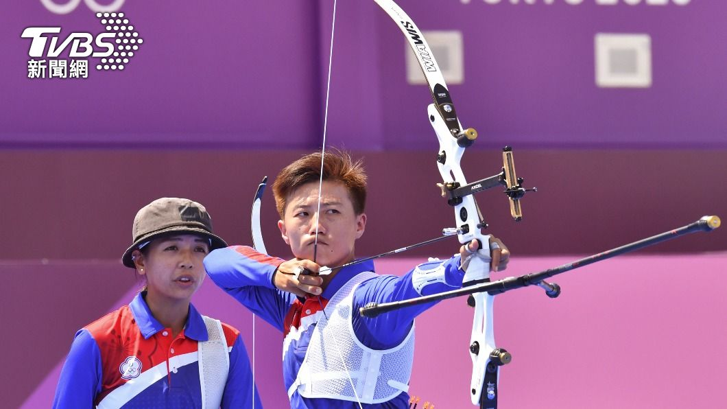 圖/達志影像路透社 快訊/爆冷!中華射箭女團首輪戰德國 「2:6」遭淘汰