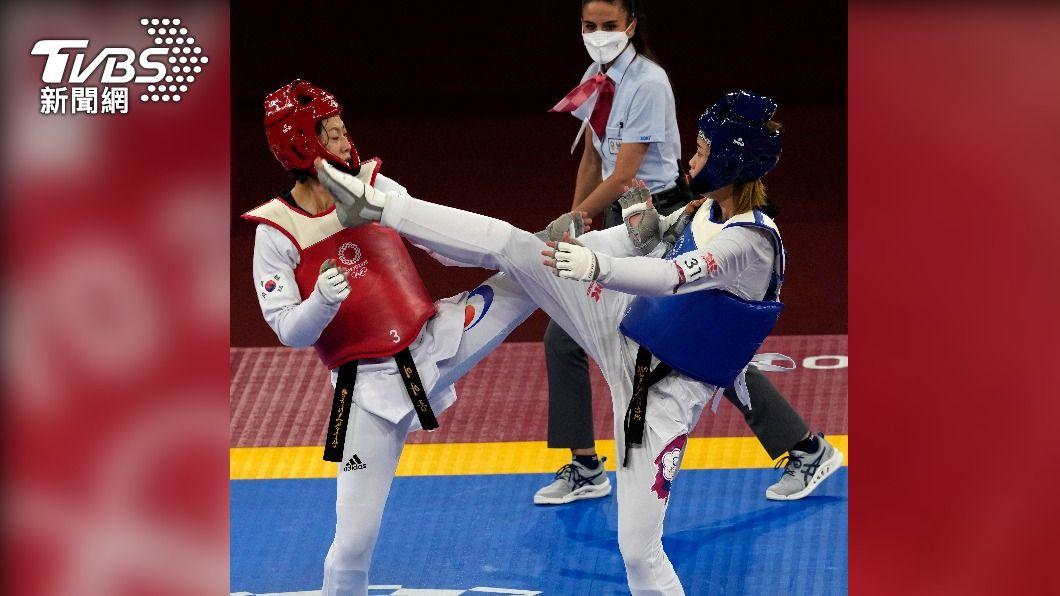 圖/達志影像美聯社 快訊/跆拳道踢贏韓國! 小將羅嘉翎首闖奧運「晉級8強」
