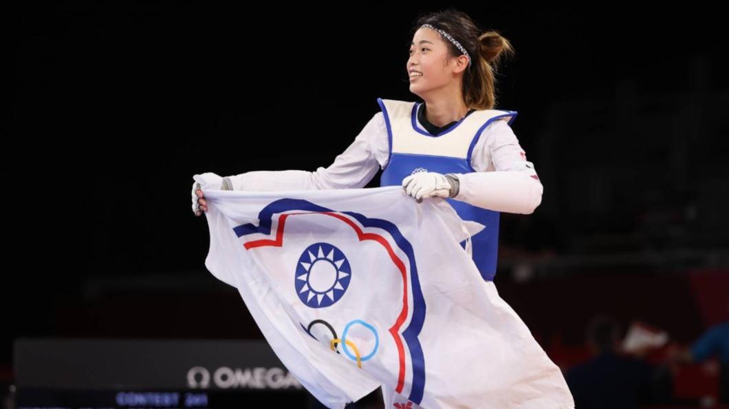 羅嘉翎奧運初登場就踢出銅牌好成績。(圖/體育署提供) 羅嘉翎奪銅首發文 點名感謝商務艙風波「最爭議3人」