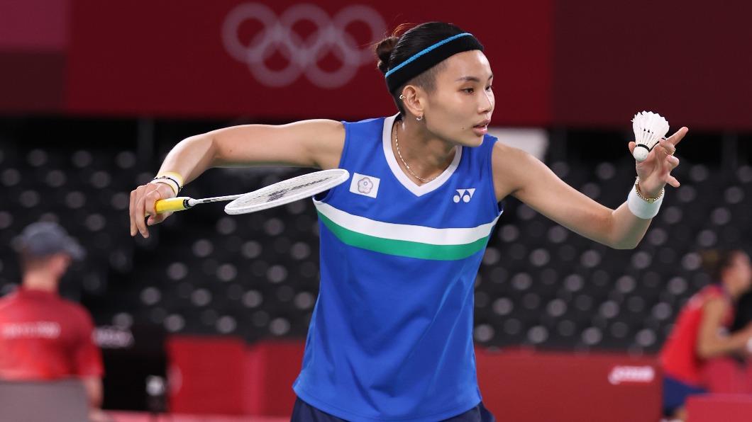 球后戴資穎出征東京奧運。(圖/體育署提供) 戴資穎12歲上《我猜》許願「打到奧運」 網嗨:超呆萌