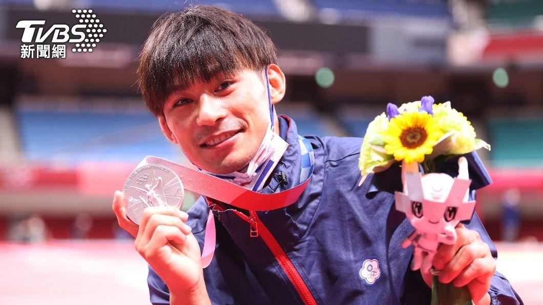 中華隊柔道代表選手楊勇緯在東京奧運奪下銀牌。(圖/李天助攝) 台中出手加碼了!楊勇緯「獎金翻20倍」東奧爽拿9百萬