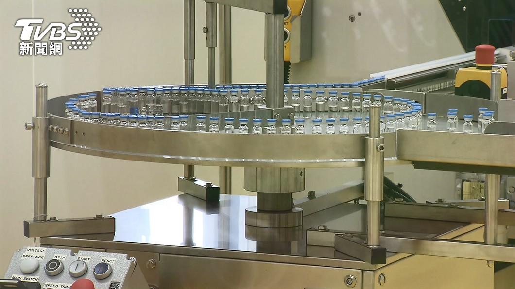 (圖/TVBS) 首4批高端疫苗完成檢驗封緘 26.5萬劑傍晚放行