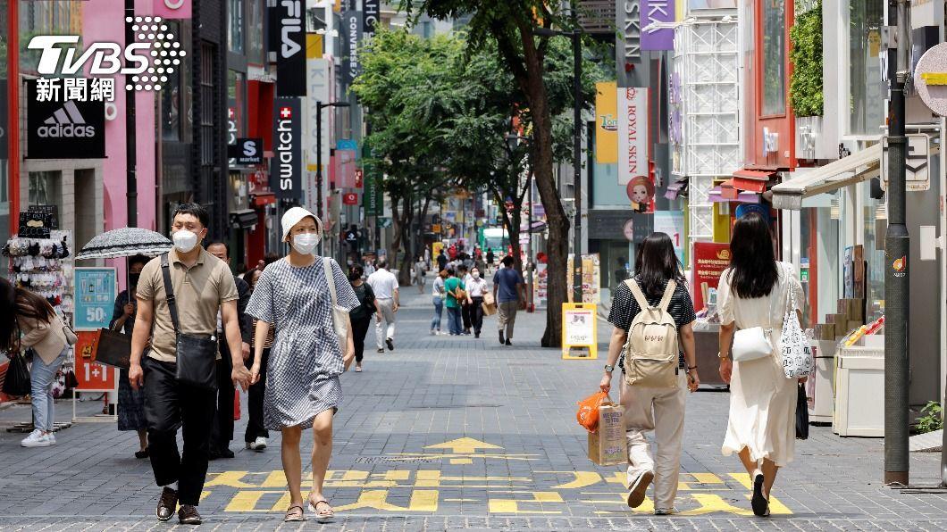 韓國疫情持續嚴峻。(圖/達志影像路透社) 韓國Delta病毒擴散快 檢出率本週恐突破5成