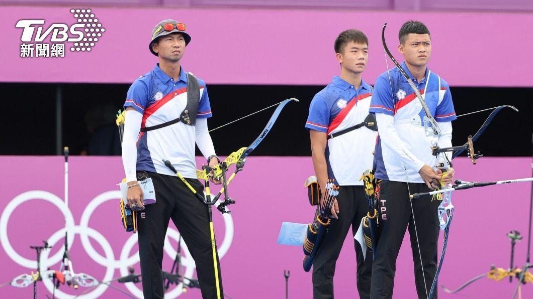 中華男子射箭隊在今日團體賽替我國射下1面銀牌。(圖/李天助攝) 中華健兒連3天奪牌創紀錄 郭婞淳明有望延續