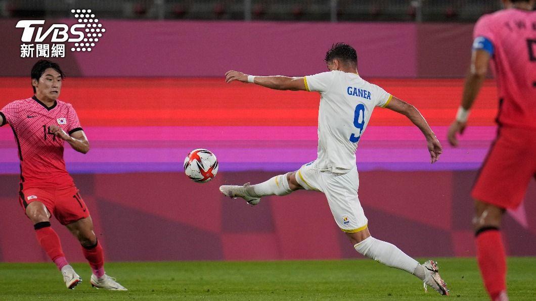 南韓足球隊在25日晚間對上羅馬尼亞。(圖/達志影像美聯社) 又出包了!南韓電視台剛道歉又惹議 轉播足球賽嘲諷對手輸球