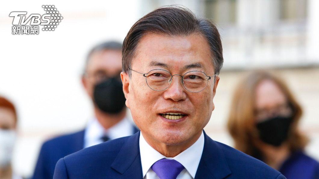 南北韓睽違13個月恢復熱線。(圖/達志影像美聯社) 睽違13個月!南北韓領導人文在寅、金正恩恢復熱線