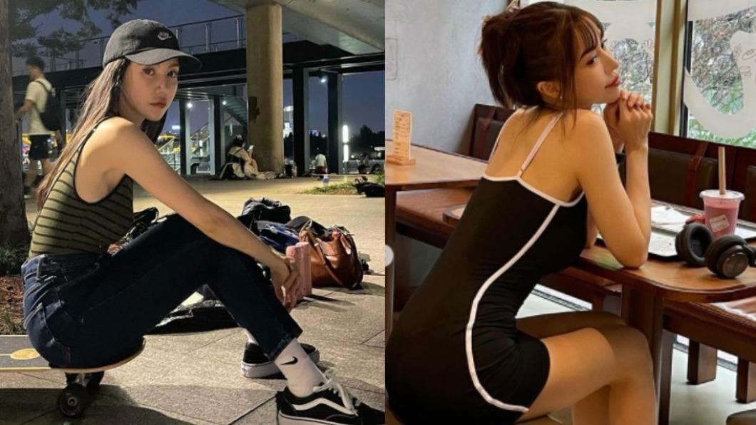 年已42歲的香港歌手蕭瀟,外型仍保養得宜。(圖/翻攝自rubyxiaoxiao IG) 絕緣中年發福!42歲女星秀超辣「天鵝頸+S腰」網暴動