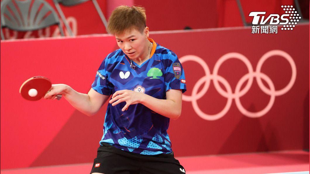 中華隊桌球女將陳思羽。(圖/體育署提供) 陳思羽贏了!東奧桌球女單連贏4局擊敗對手挺進16強