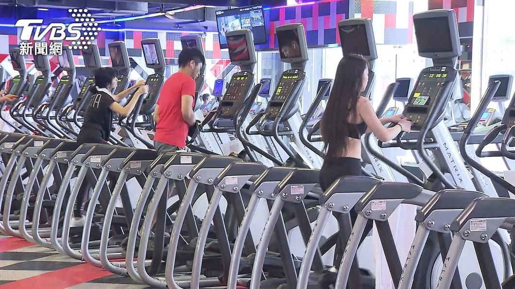 近來健身房接連爆出確診。(示意圖/TVBS資料畫面) 健身房又上榜!北市公布2確診足跡:有狀況的是人非場地