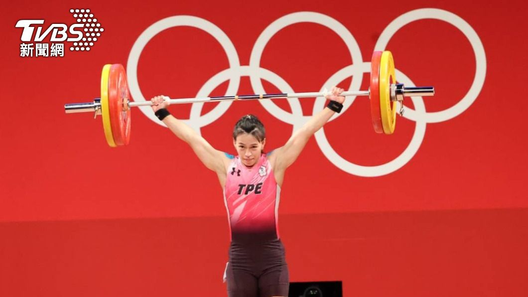 我國女子舉重好手郭婞淳。(圖/李天助攝) 首金出爐!三破奧運紀錄 「舉重女神」郭婞淳摘金