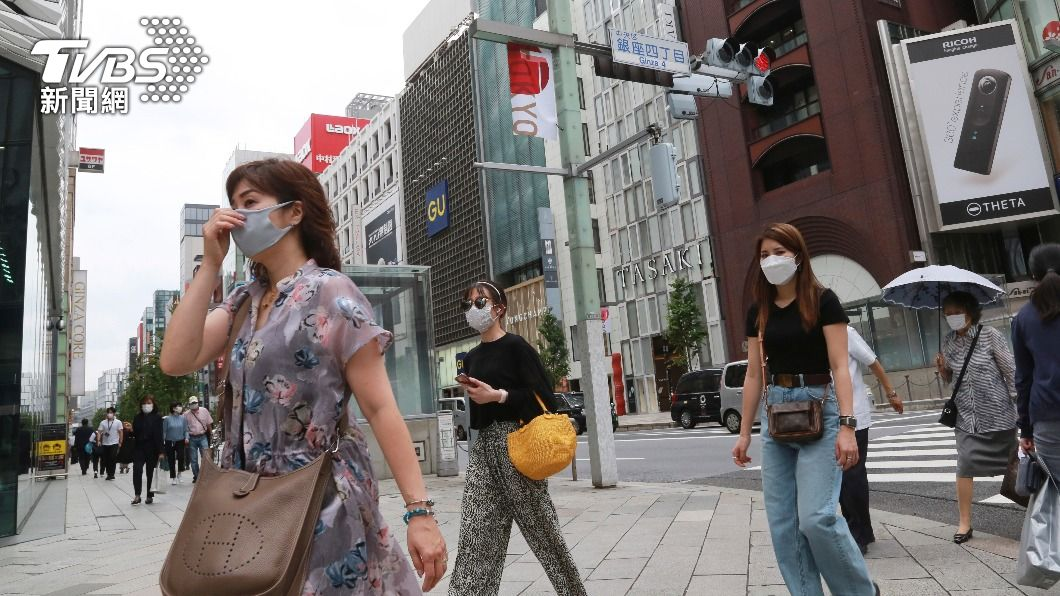 東京昨日確診數翻倍。(圖/達志影像美聯社) 快訊/東奧危險!東京確診2848例!染疫衝新高暴增一倍