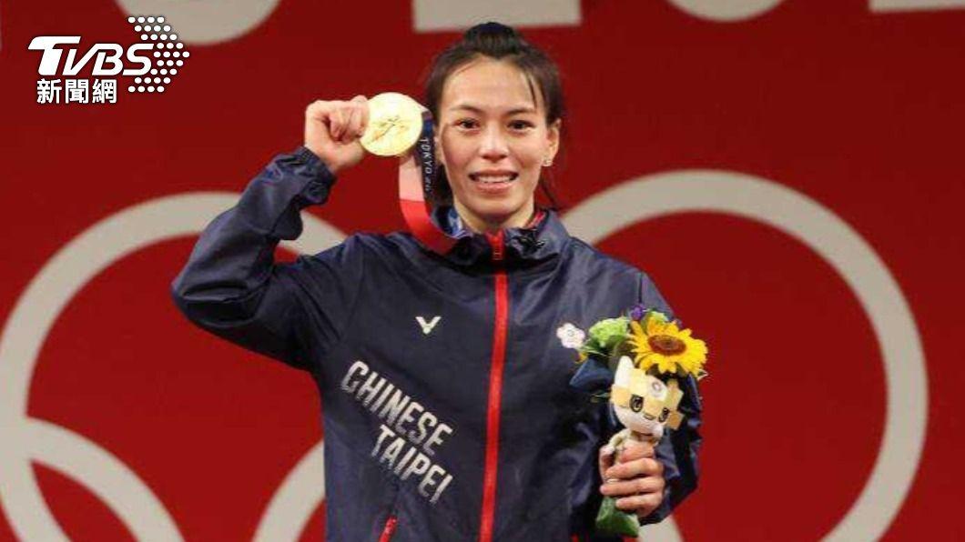 郭婞淳在東京奧運奪得金牌。(圖/體育署提供) 奪東奧金牌「2280萬元入袋」 郭婞淳曝鉅額獎金規劃