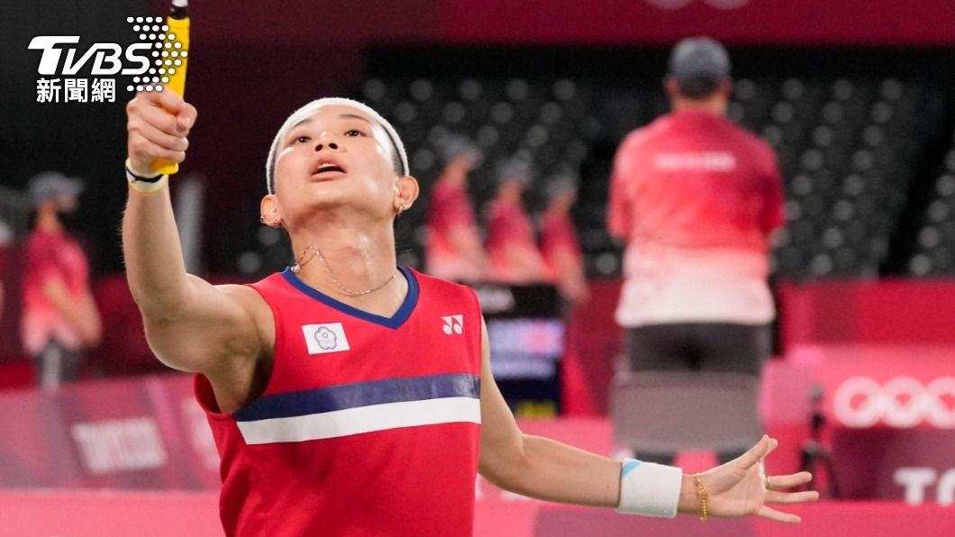 戴資穎晉級東奧羽球女單8強。(圖/達志影像美聯社) 東奧小組賽3連勝晉8強 戴資穎:首要課題減少失誤
