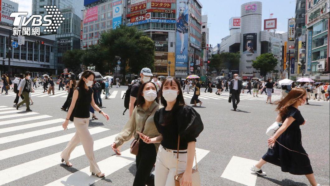 (圖/達志影像美聯社) 東京新增確診3177例再創新高 首度破3千例