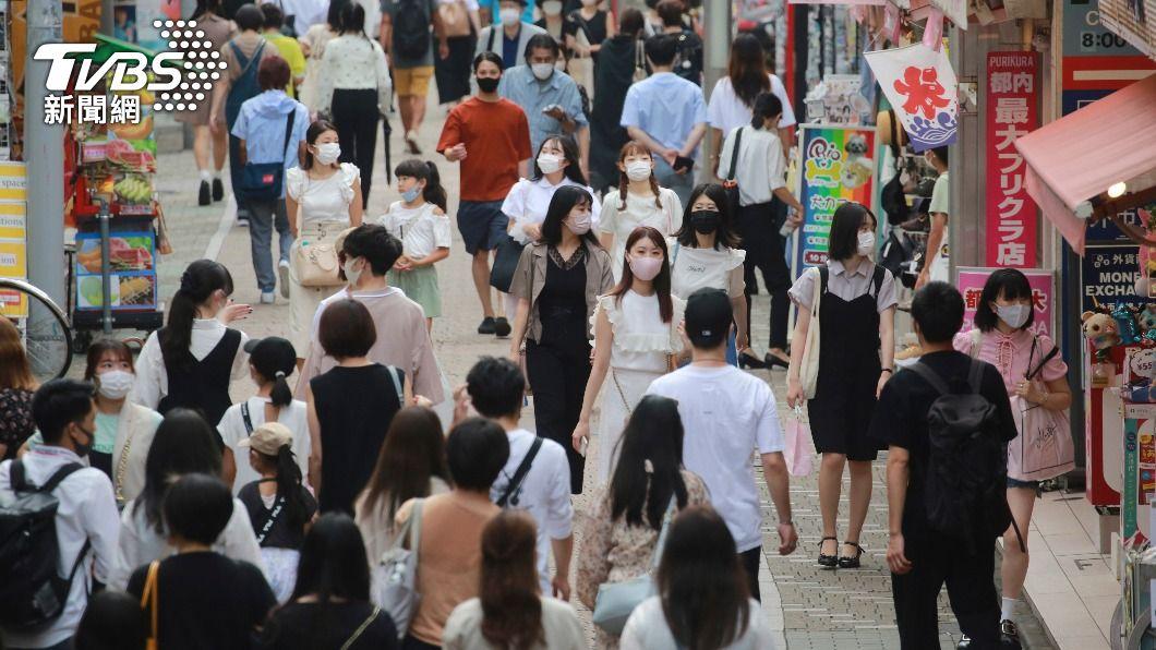 (圖/達志影像美聯社) 首都圈疫情告急 日本政府擬30日擴大緊急事態