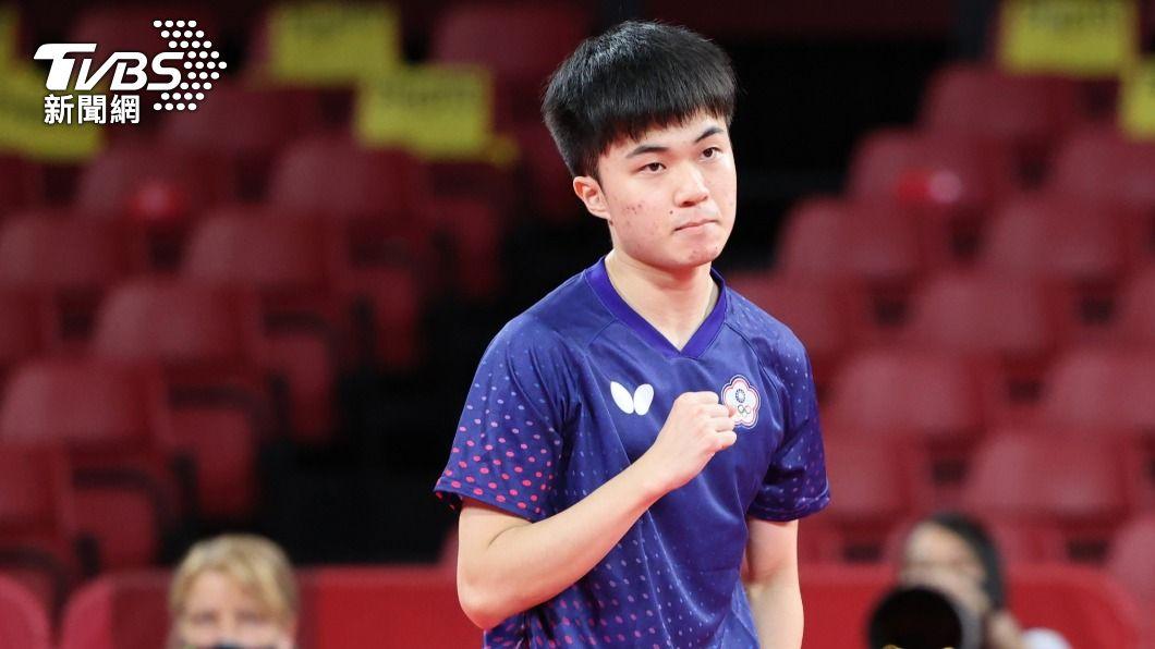 林昀儒年僅19歲。(圖/李天助攝) 金牌拿到手軟!林昀儒強碰「桌球大魔王」 網揭戰勝關鍵