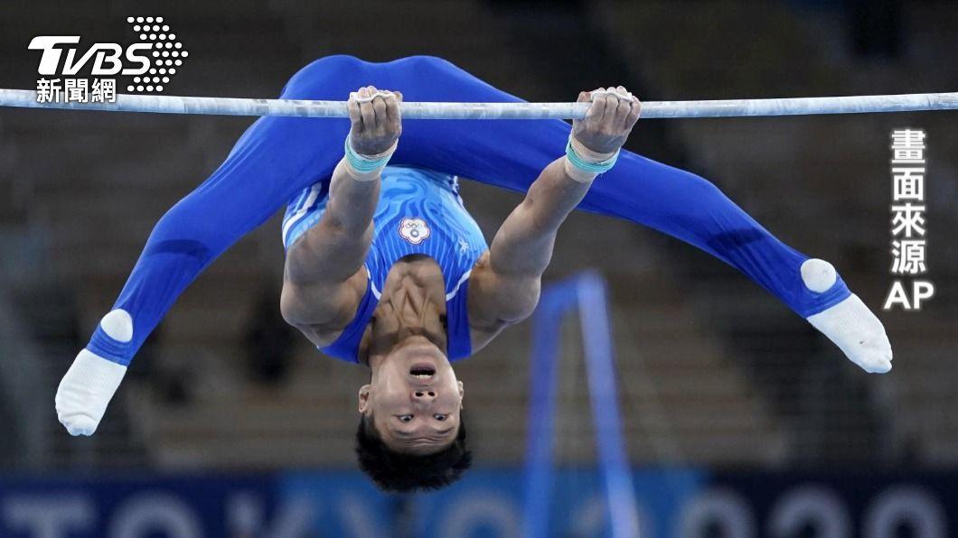 圖/AP 東奧體操男子全能 唐嘉鴻第7史上最佳